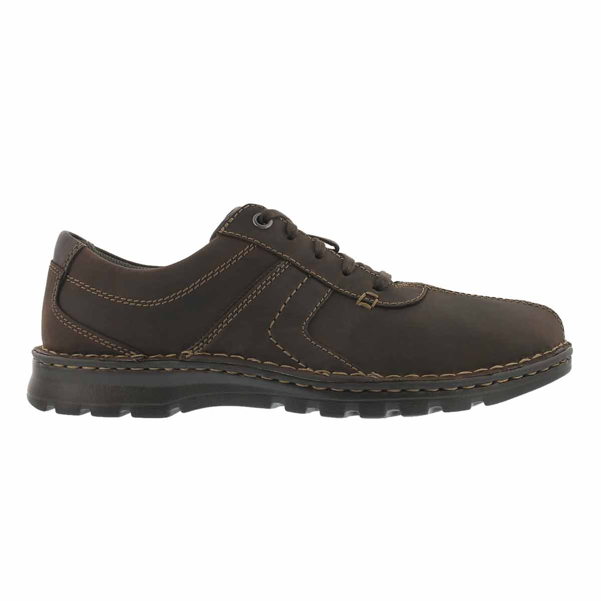 Men's VANEK WALK dark brown casual oxfords
