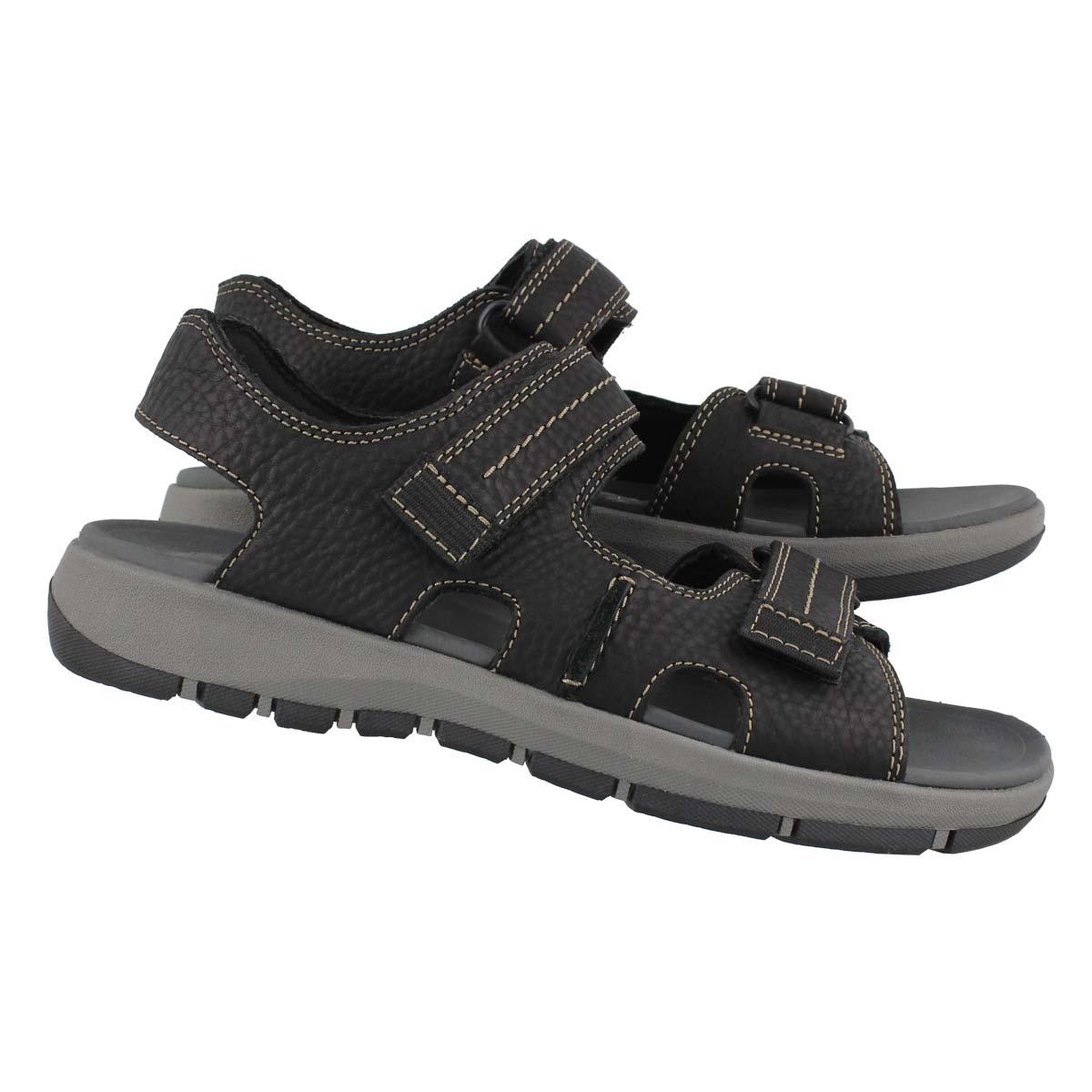 Men's BRIXBY SHORE black casual sandals