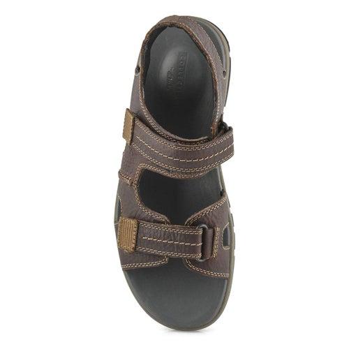 Mns Brixby Shore dk brn casual sandal