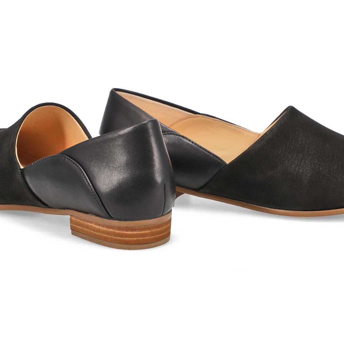 Women's Pure Tone Dress Loafer - Black