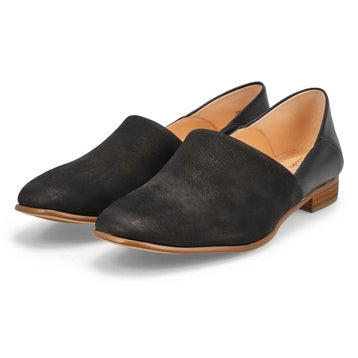 Women's PURE TONE black dress loafers