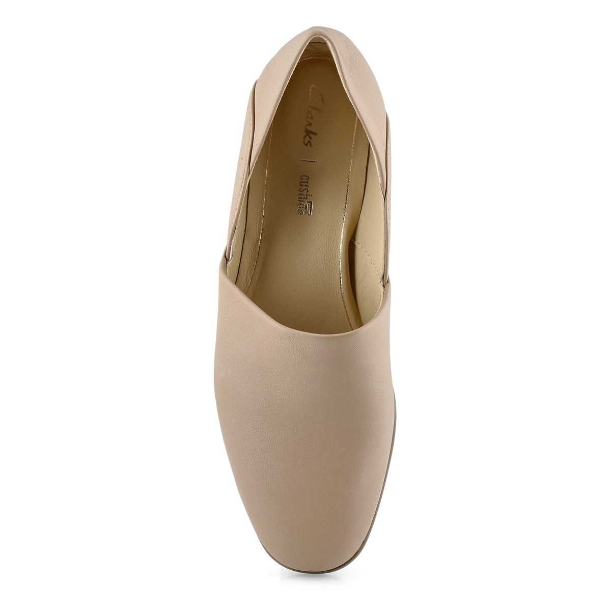 Women's Pure Tone Dress Loafer - Nude