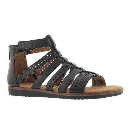 Lds Kele Lotus black casual sandal