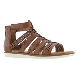 Lds Kele Lotus tan casual sandal