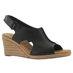 Sandale comp. Lafley Rosen, noir, fem