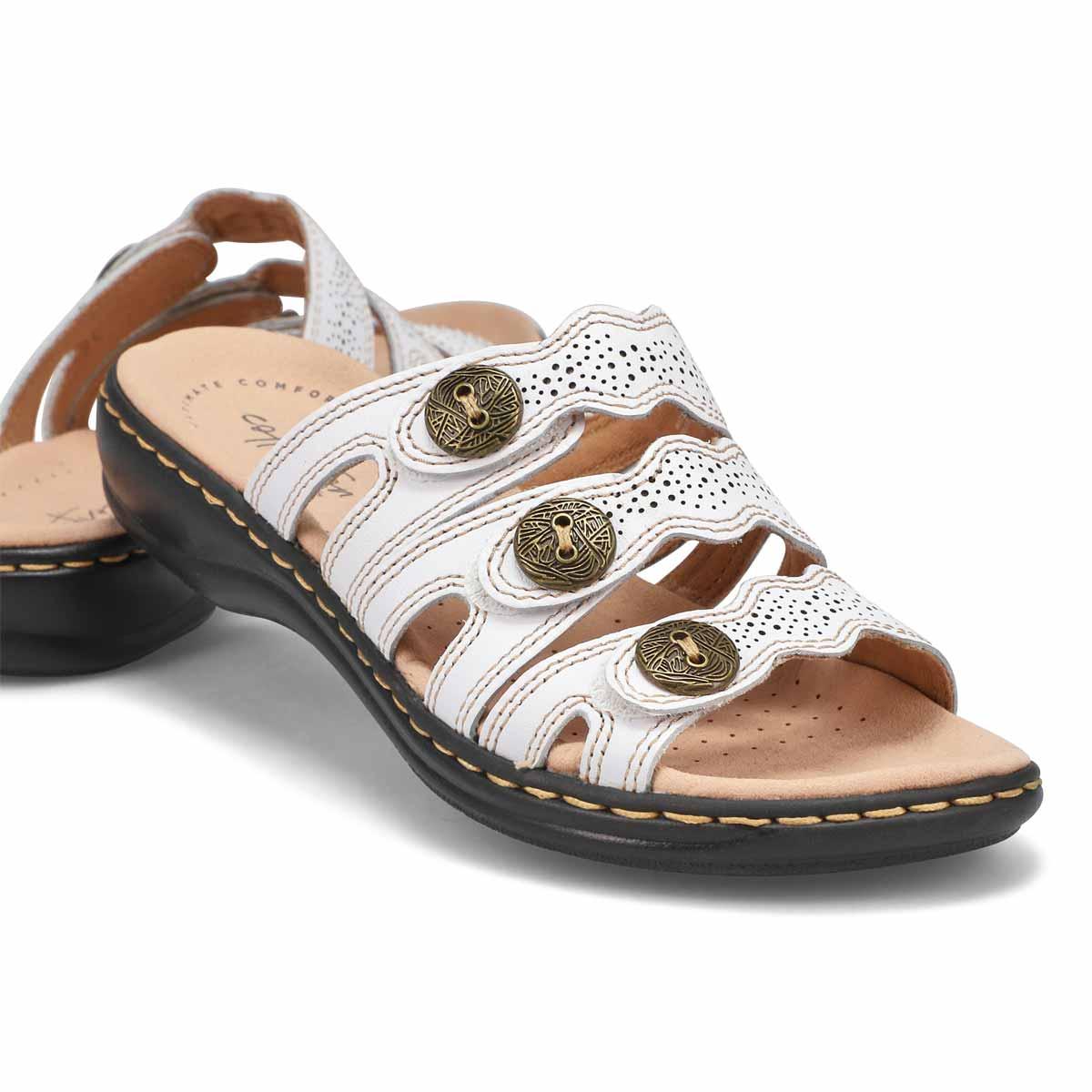 Women's Leisa Grace Slide Sandal - White