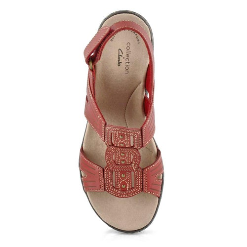 Lds Leisa Vine red casual sandal