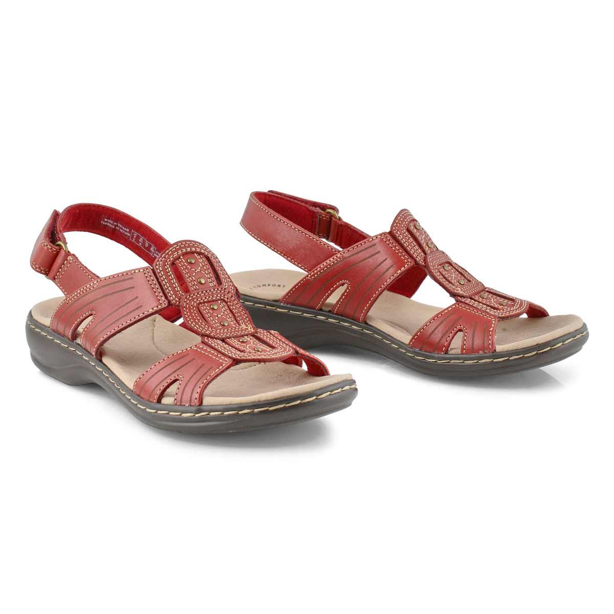 Lds Leisa Vine red casual sandal