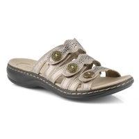 Women's Leisa Grace Slide Sandal - Pewter