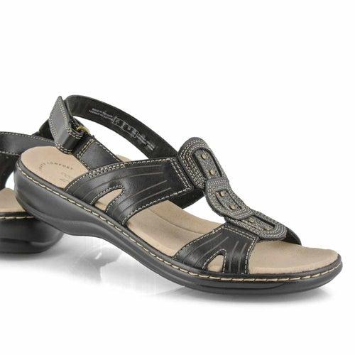 Sandale déc. Leisa Vine, noir, femme