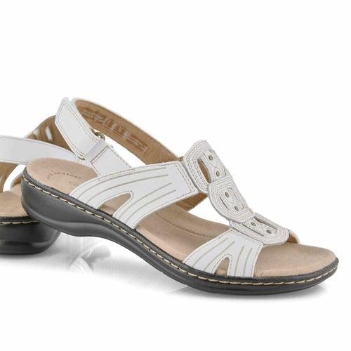 Sandale déc. Leisa Vine, blanche, femmes