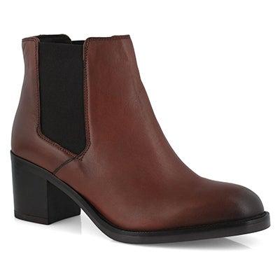Lds Mascarpone Bay tan dress ankle boot
