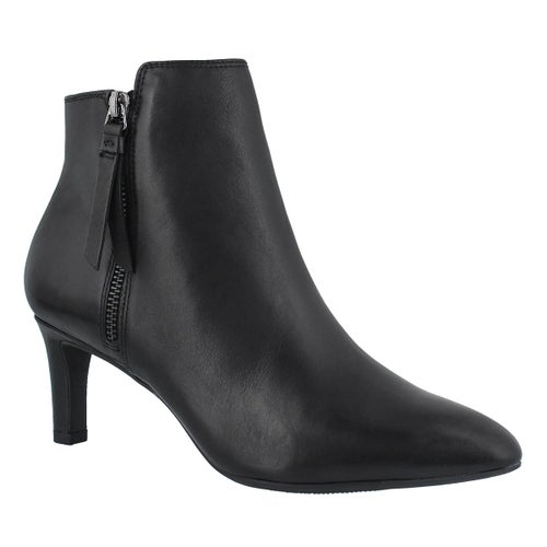Lds Calla Blossom black dress bootie