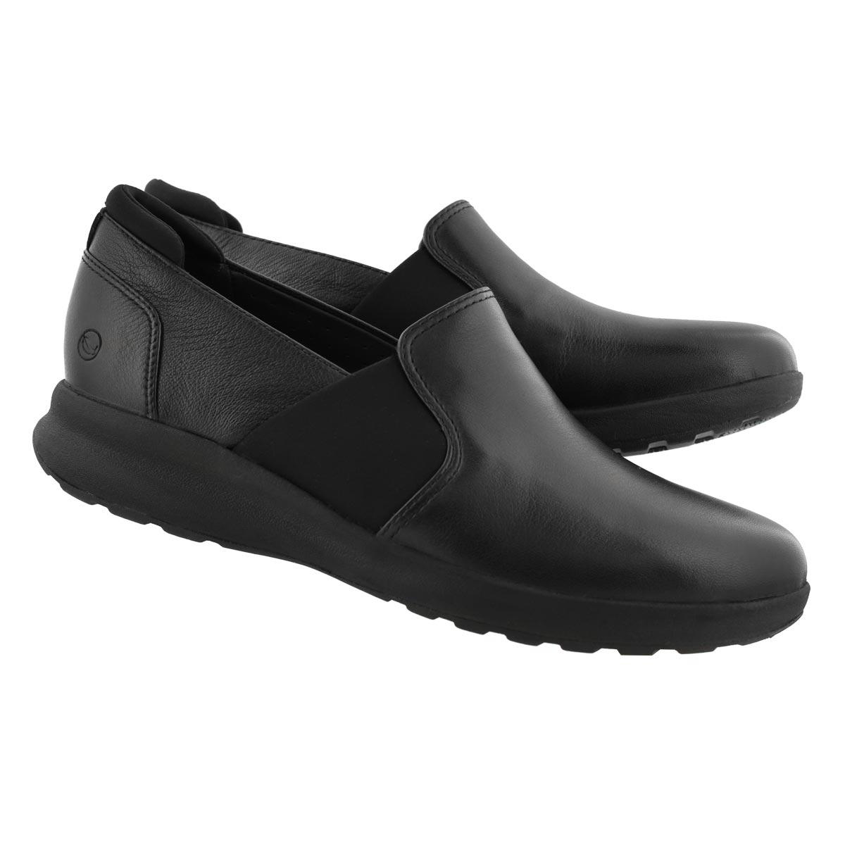 Women's Un Adorn Step Casual Shoe - Black
