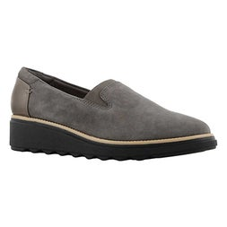 Lds Sharon Dolly grey casual loafer