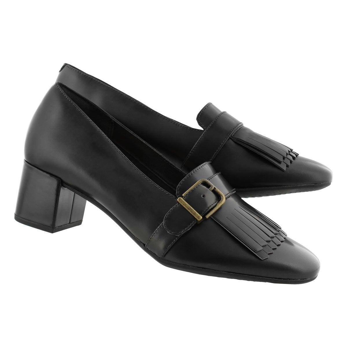 Women's TEALIA MAYE black dress heels