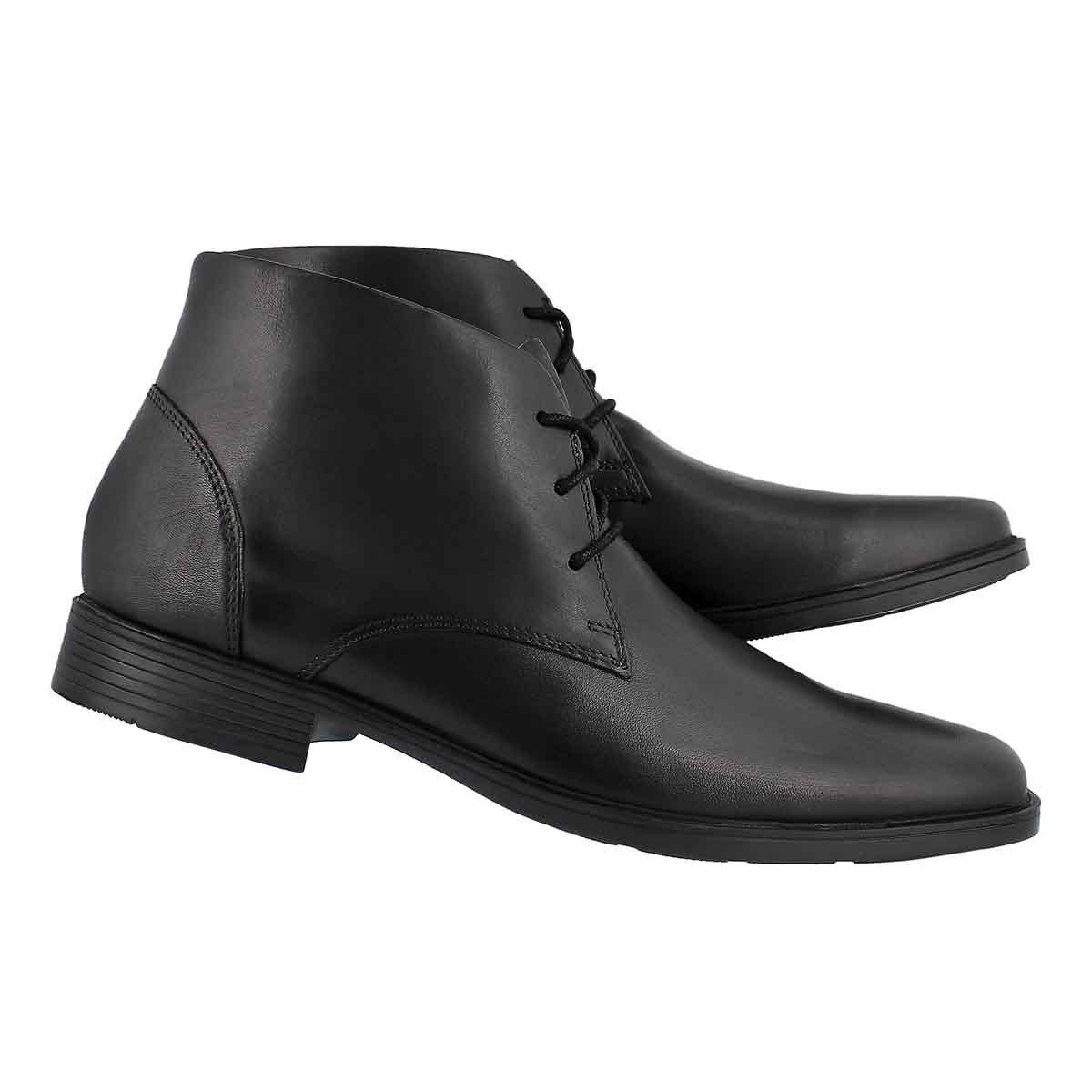 Men's TILDEN TOP black waterproof dress ankle boot