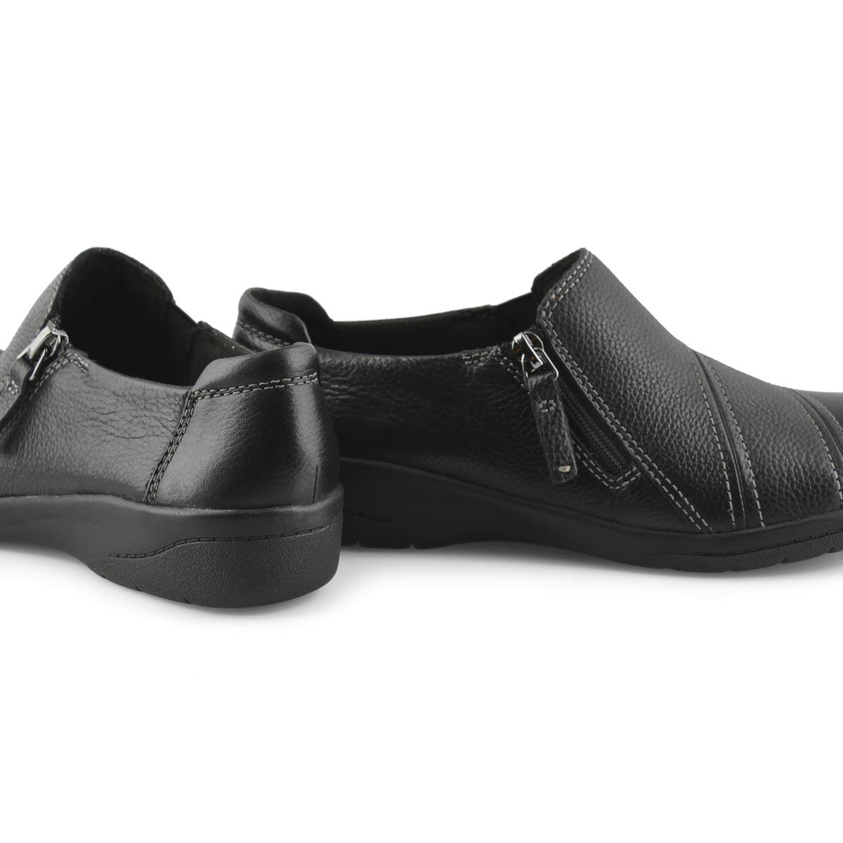 Women's Cheyn Clay Casual Slip On - Black