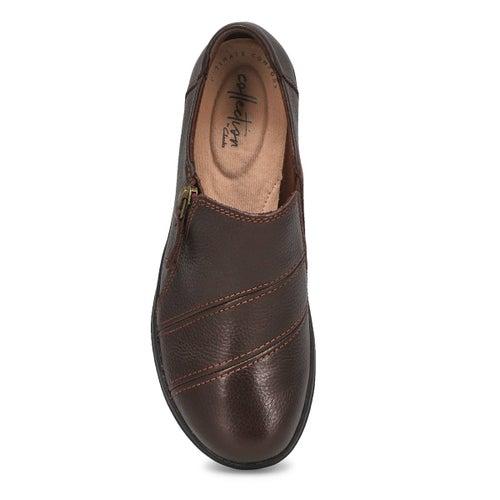 Lds Cheyn Clay dark brown casual slip on