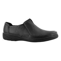 Lds Cheyn Bow black casual slip on