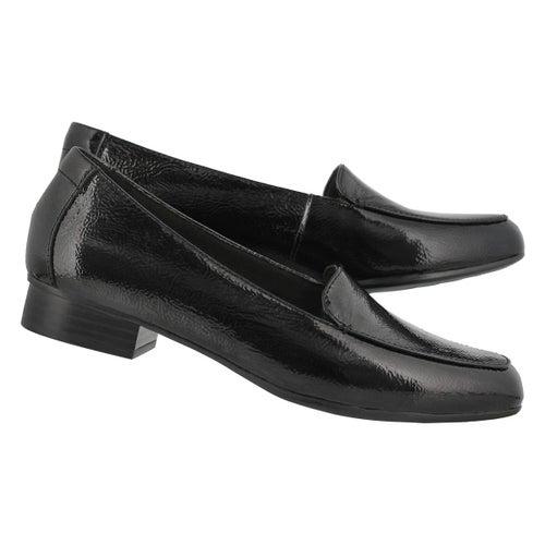 Lds Juliet Lora blkpat dress loafer-wide