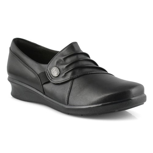 Lds Hope Roxanne black slip on-WIDE