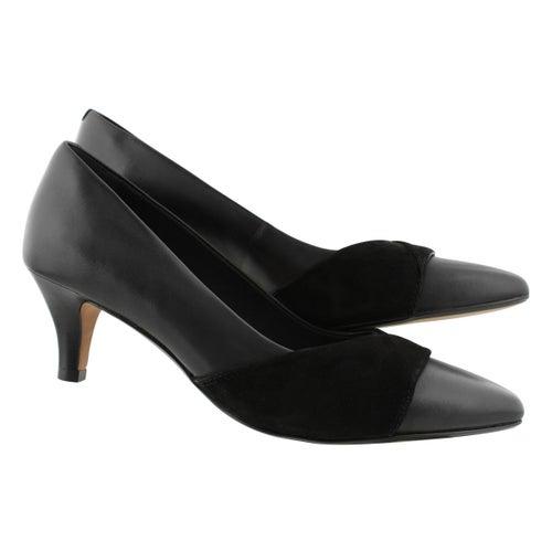 Lds Linvale Vena black dress heel