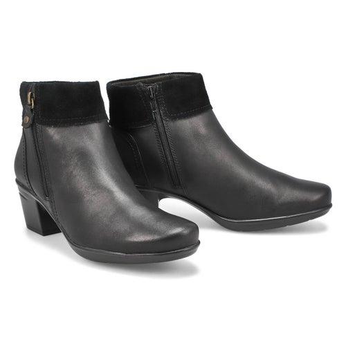 Lds Emslie Twist black ankle boot