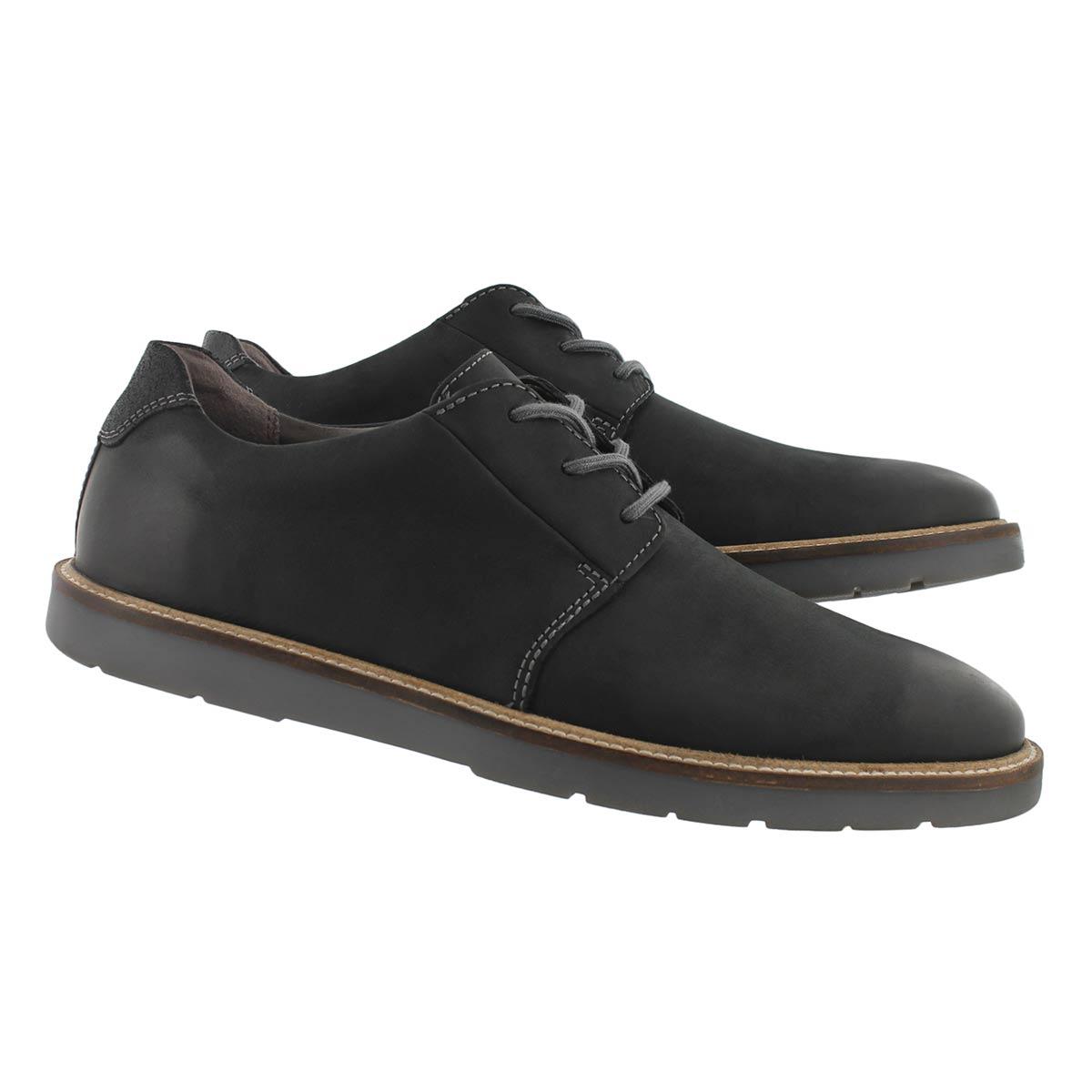 Men's Grandin Plain Casual Oxford - Black