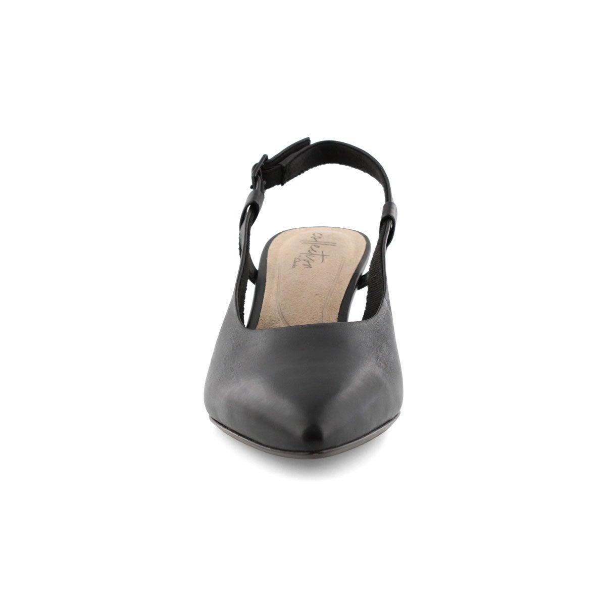 Women's Linvale Loop Sling Back Dress Shoe - Black