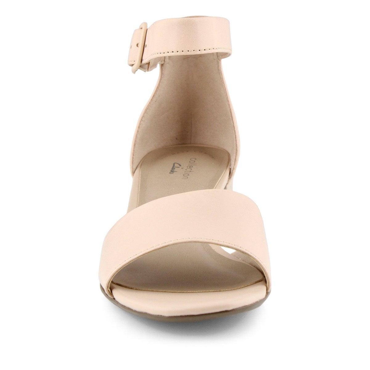 Lds Elisa Dedra blush dress sandal