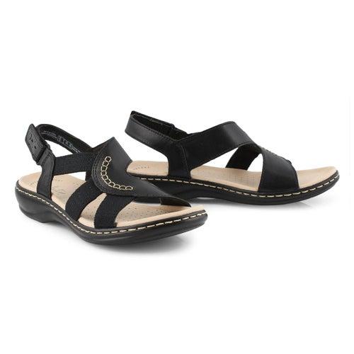 Lds Leisa Joy blk casual sandal