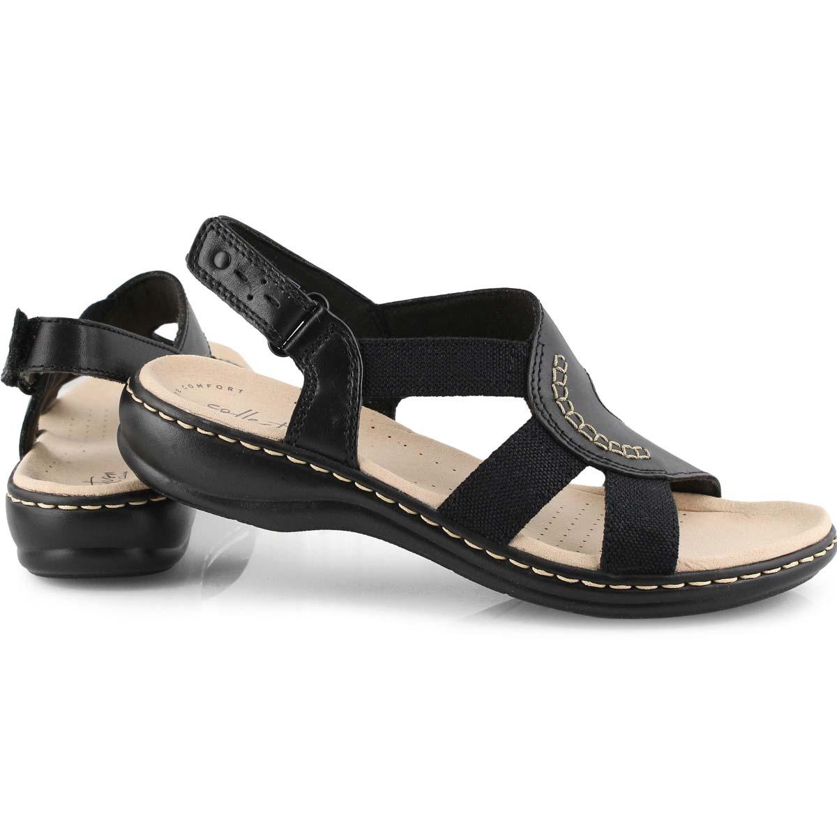 Sandale décontractée LEISA JOY, noire, femme