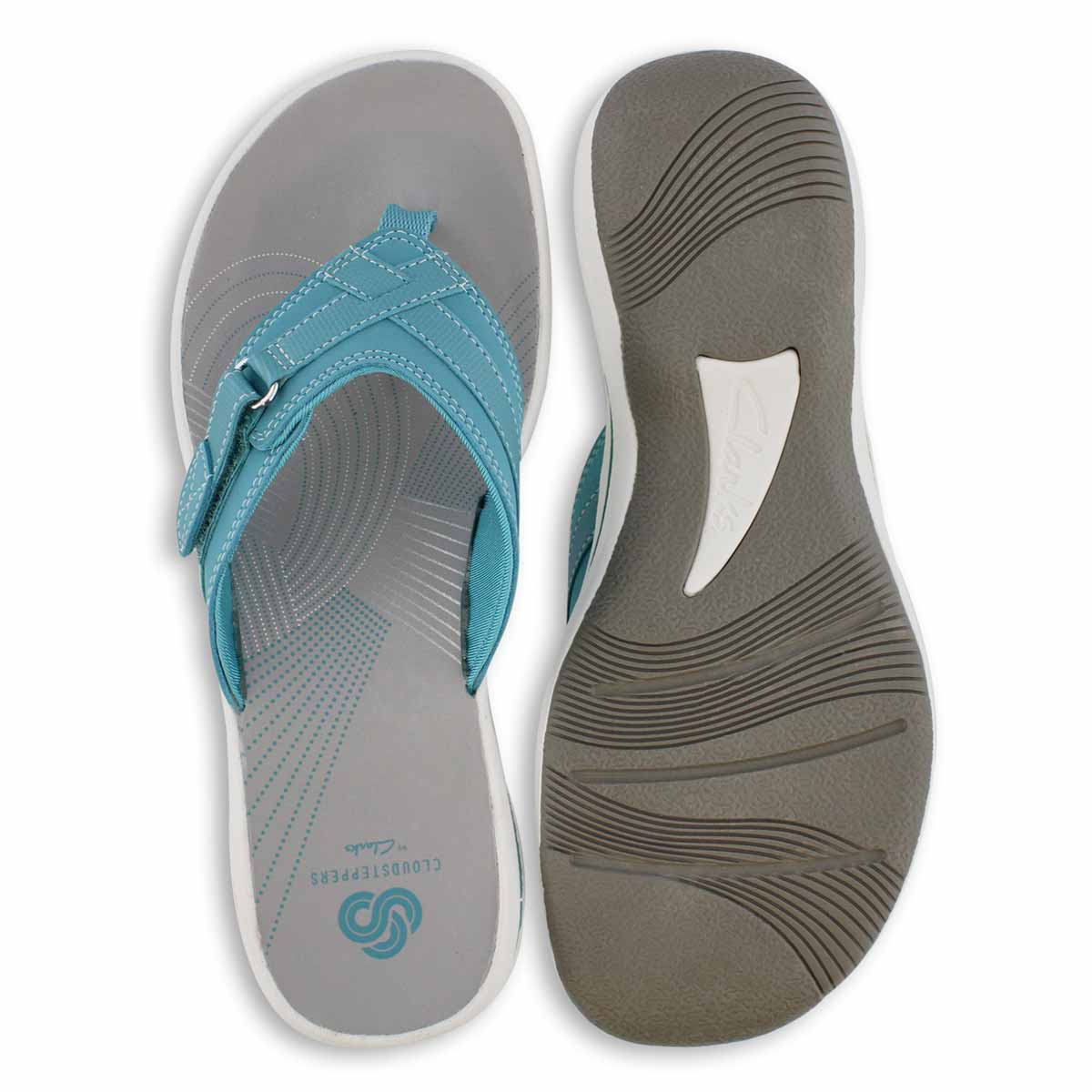 Women's Breeze Sea Thong Sandal - Aqua