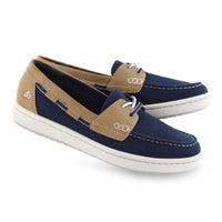 Women's STEP GLOW LITE navy slip on shoes