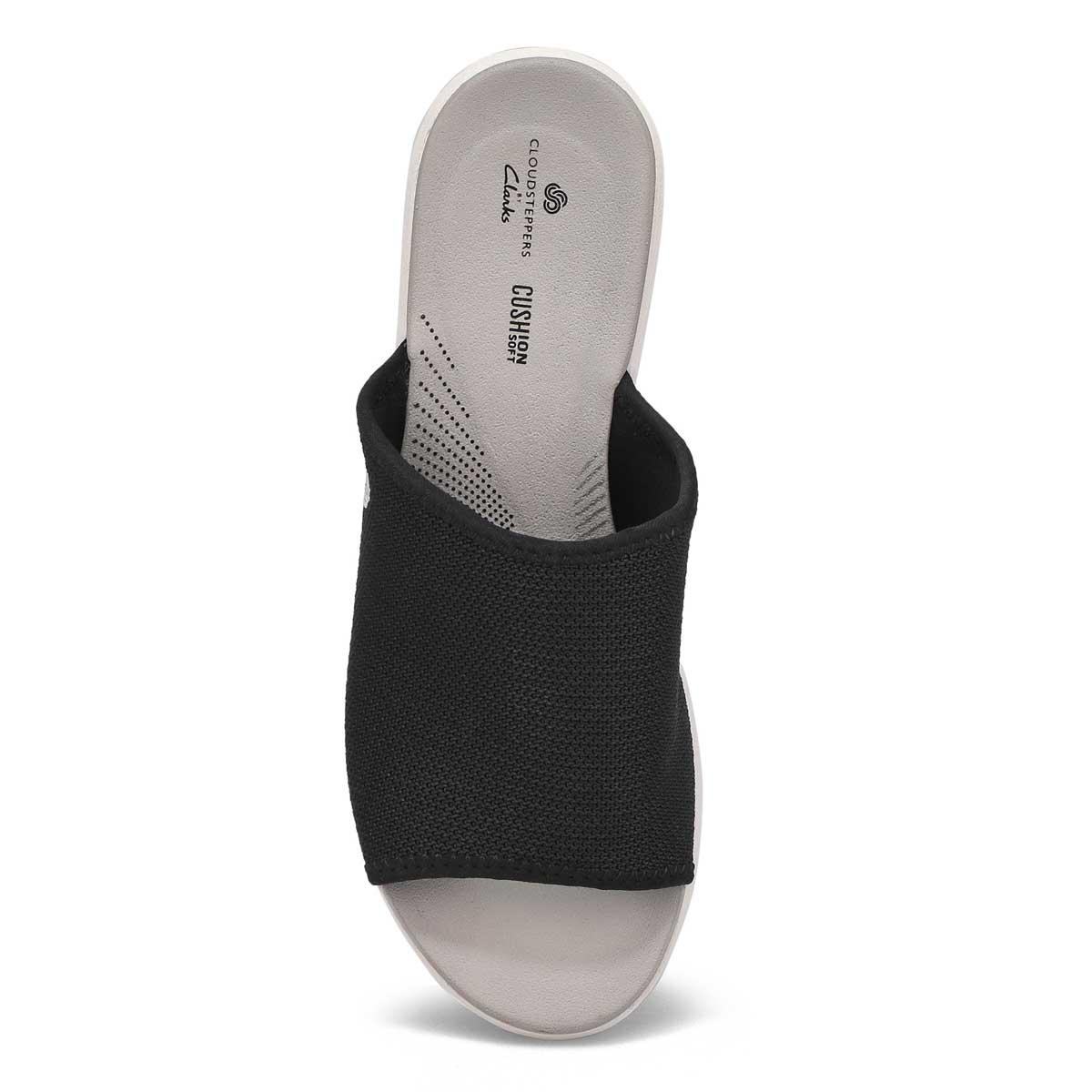 Women's Step Cali Bay Slide Sandal - Black