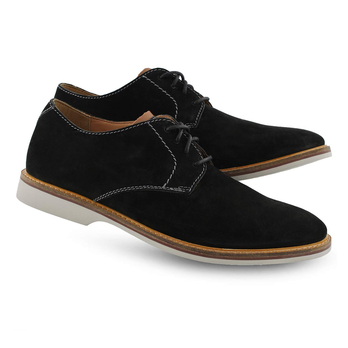 Men's ATTICUS LACE black dress oxfords