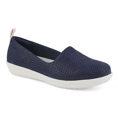 Lds Ayla Blaire navy slip on