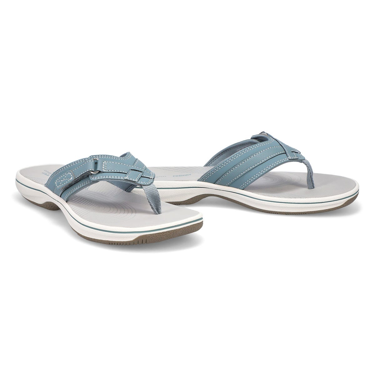 Sandale tong Breeze Sea, bleu, femme