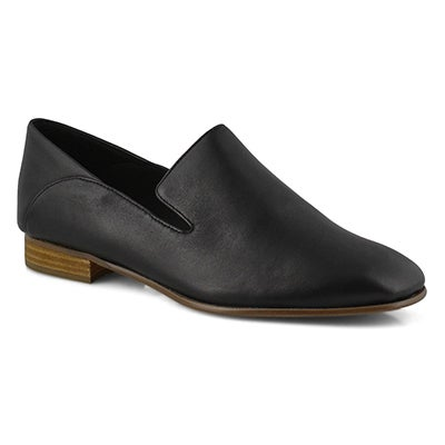 Lds Pure Viola black dress flats