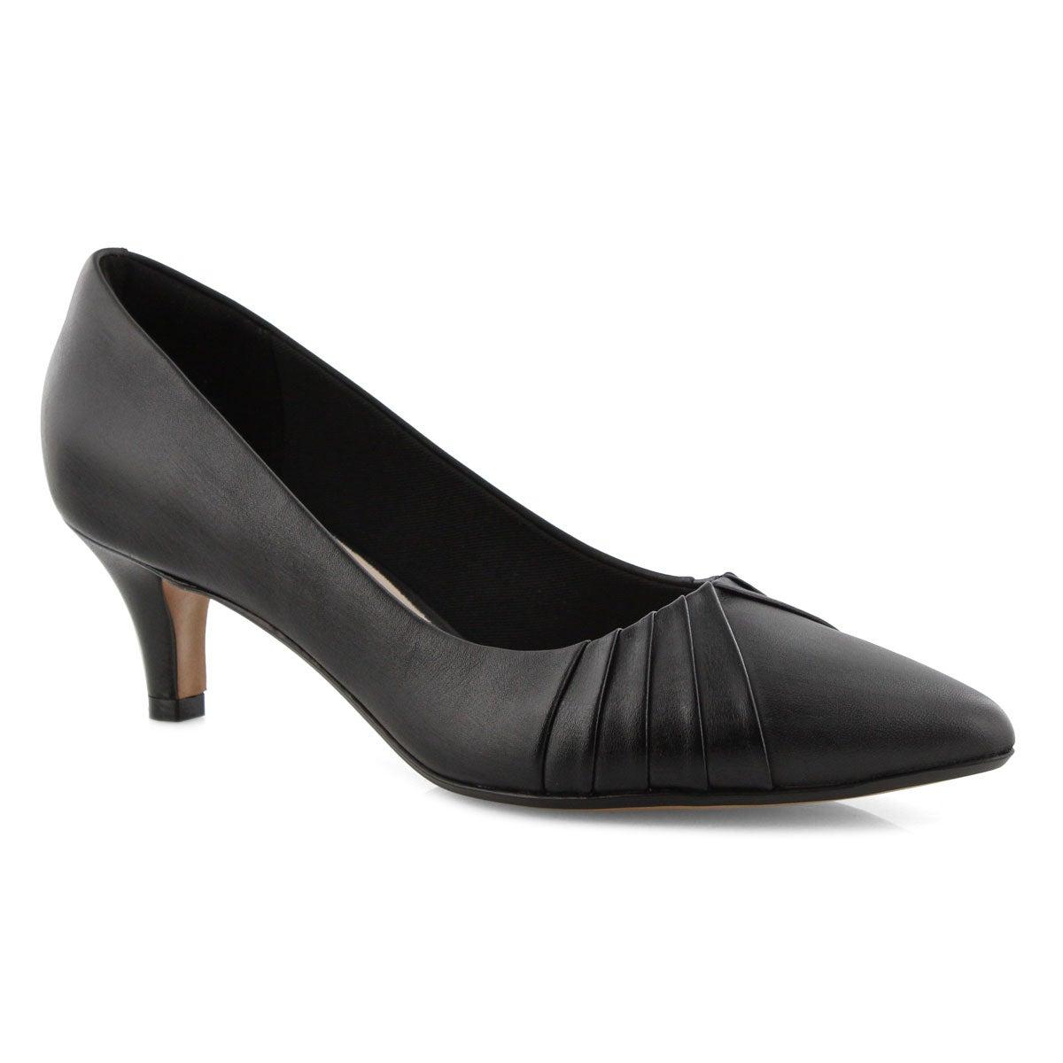 Lds Linvale Crown blk dress heel