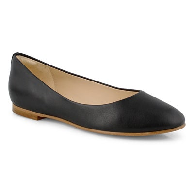 Lds Grace Piper black casual flat