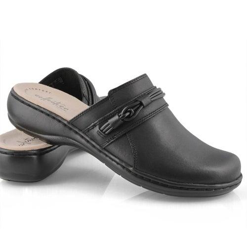 Lds Leisa Clover black casual clog