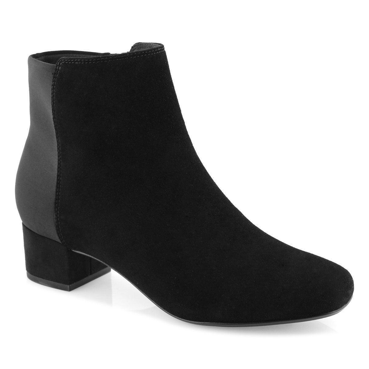 Women's Chartli Valley Suede Boot - Black