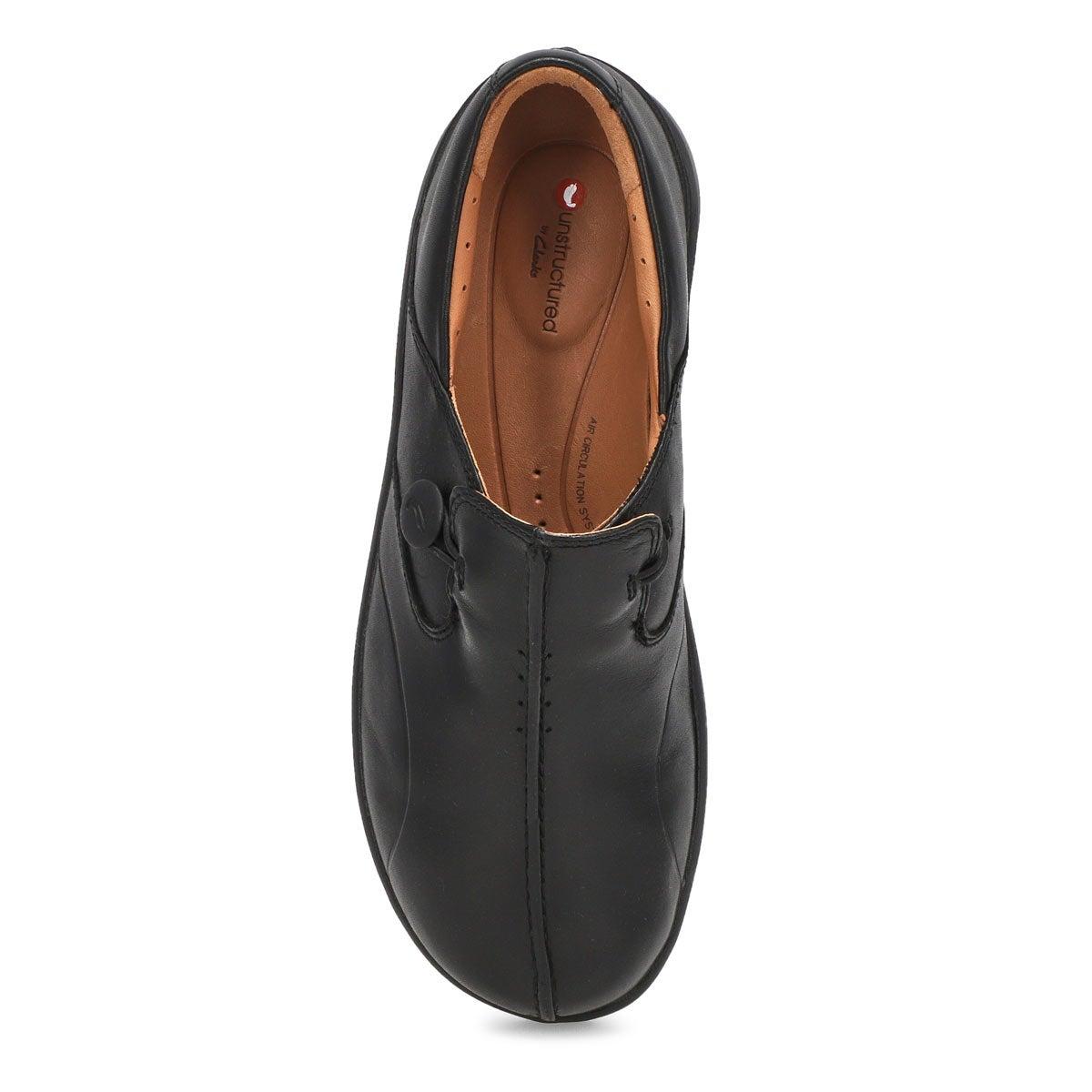 Women's Un Loop 2 Walk Casual Wide Shoe - Black