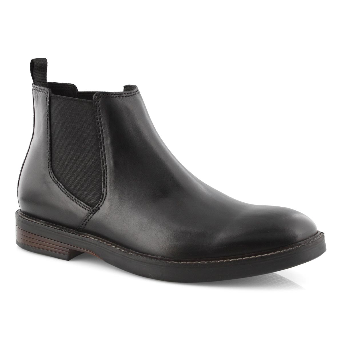 Mns Paulson Up black chelsea boot