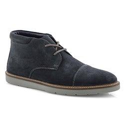 Mns Grandin Top navy lace up chukka boot