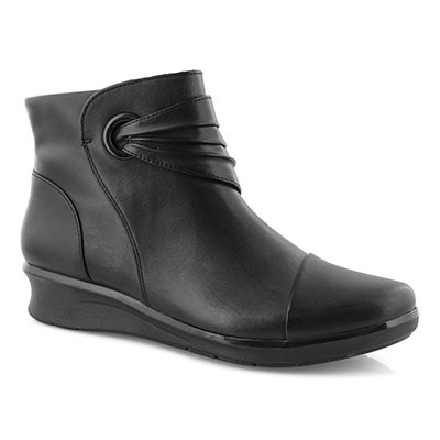 Lds Hope Twirl black ankle boot