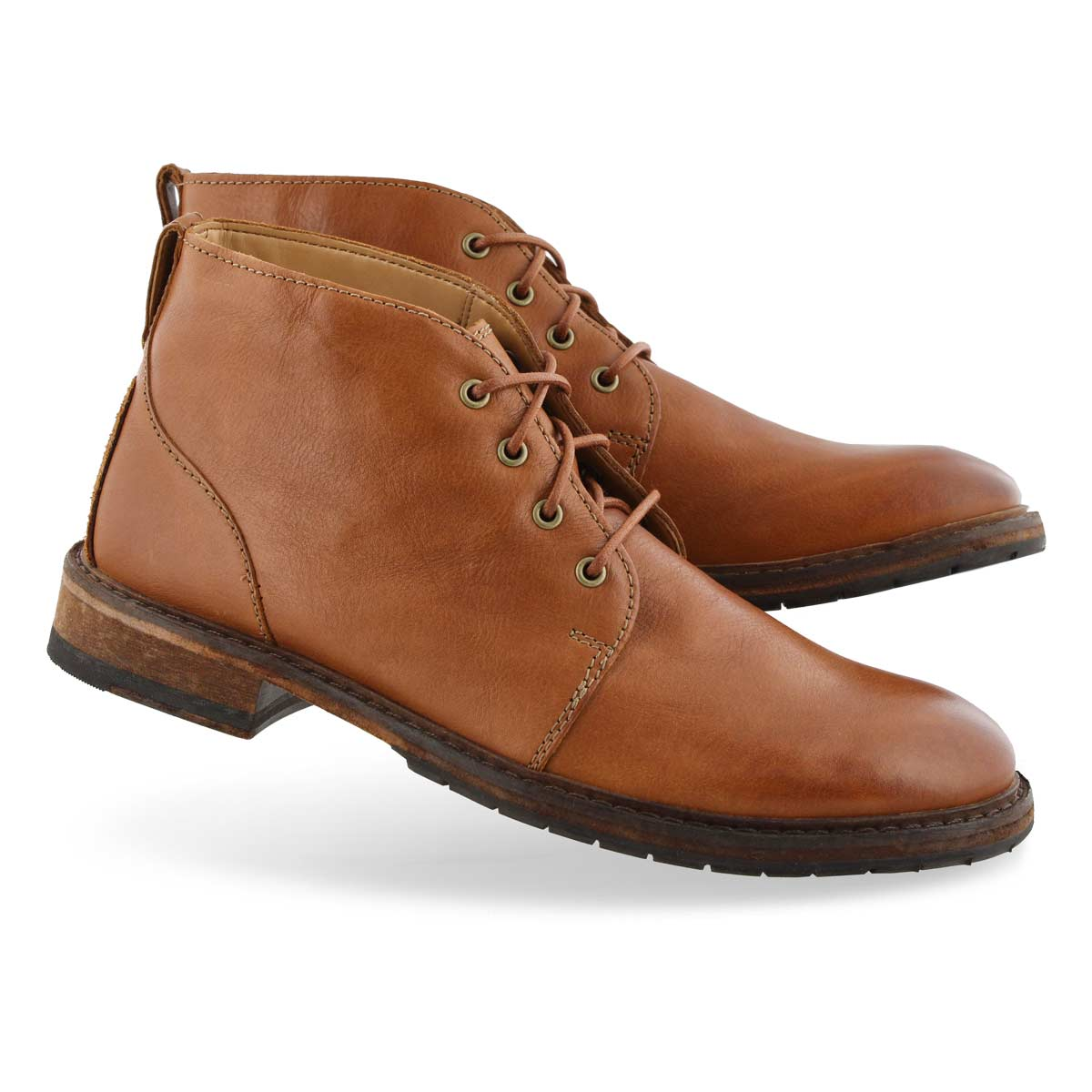 Men's CLARKDALE BASE tan ankle boots