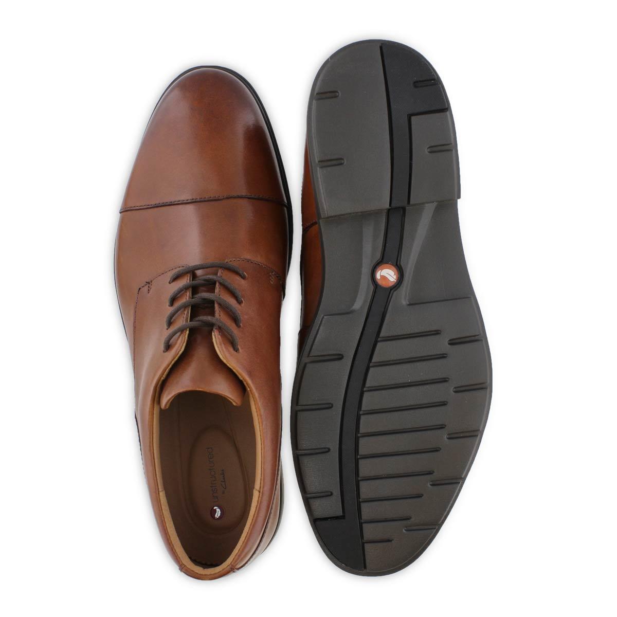 Men's Uun Tailor Cap Dress Wide Oxford - Tan